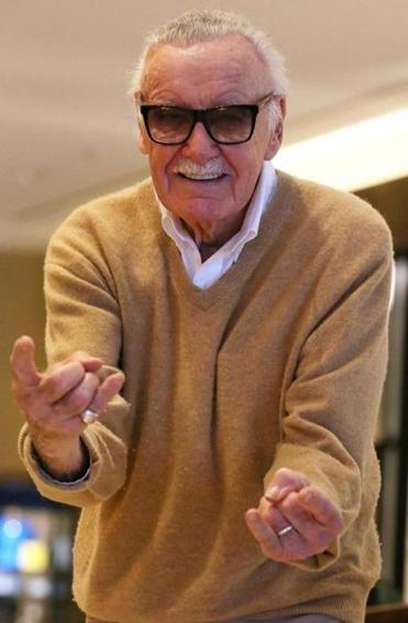 Marvel Comics legend Stan Lee is slated to appear.